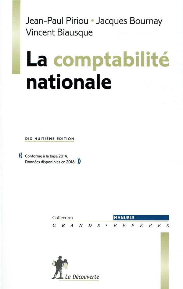 LA COMPTABILITE NATIONALE  18EME EDITION